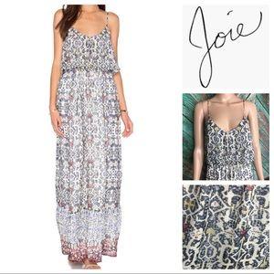 Joie Balla B Silk Maxi Dress